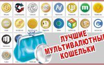 Мультивалютные кошельки для криптовалюты
